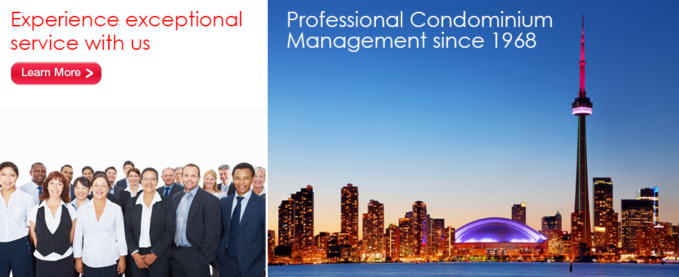 Professional Condominium Management serving the GTA since 1968