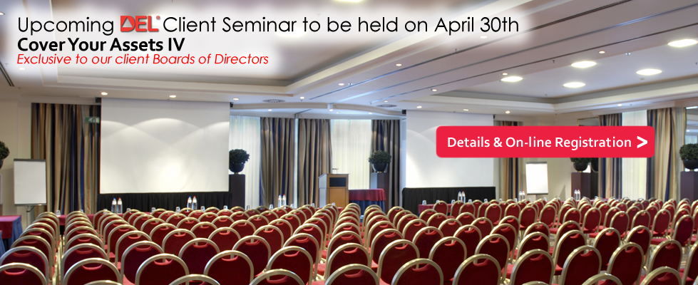 Upcoming Client Seminar