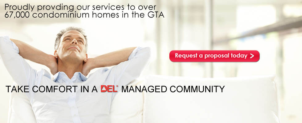 The DEL Condominium Management Resource Team Working Together… For You!