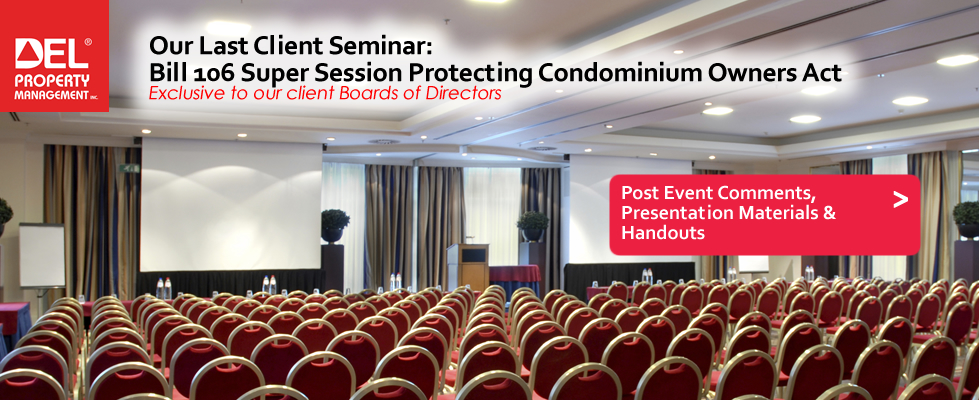 Our Latest DEL Client Seminar – post event comments & presentation materials