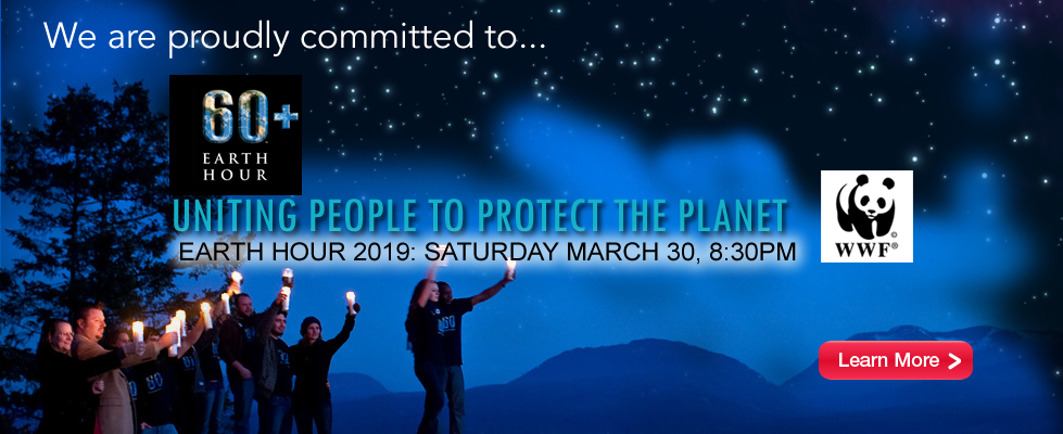 DEL Property Management – Earth Hour 2019